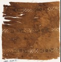 Textile fragment with three bands of cartouches (EA1984.428.b)