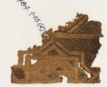 Textile fragment, possibly from a sash or shawl (EA1984.445.d)