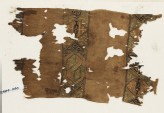 Textile fragment with squares and hexagons (EA1984.446)