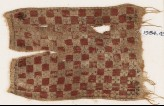 Textile fragment with grid (EA1984.450)