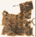 Textile fragment with rows of chevrons (EA1984.460)