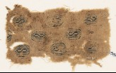Textile fragment with hexagons containing an S-shape (EA1984.461)
