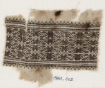 Textile fragment with vines, leaves, and flower-heads (EA1984.462)