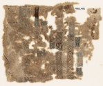 Sampler fragment with bands and rectangles