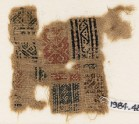 Sampler fragment with bands of S-shapes and triangles (EA1984.482)