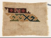 Sampler fragment with hooks and crosses (EA1984.500)