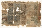 Sampler fragment with diamond-shapes and chevrons (EA1984.505)