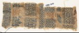 Sampler fragment with crosses and diamond-shapes (EA1984.509)