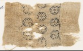 Textile fragment with three rows of octagons (EA1984.525)