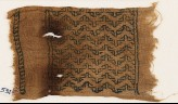 Textile fragment with band of chevrons (EA1984.531)