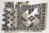 Textile fragment with geometric patterns (EA1984.556)