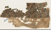 Textile fragment with alternating diamond-shapes and hexagons (EA1984.569)