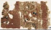 Textile fragment with medallions or scrolls (EA1984.578)