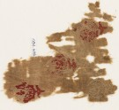 Textile fragment with three circles containing crescents (EA1984.609)
