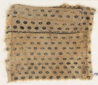 Textile fragment with flowers or diamond-shapes, possibly from a garment (EA1984.612)
