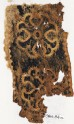 Textile fragment with Maltese crosses