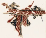 Textile fragment with vines and leaves (EA1984.88)