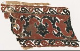 Textile fragment with vine, tendrils, and trefoils (EA1984.95)