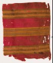 Textile fragment with striped bands (EA1988.54.a)