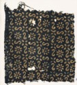 Textile fragment with S-shapes, rosettes, and flowers (EA1990.14)