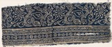 Textile fragment with stems, leaves, and blossoms (EA1990.140)