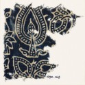 Textile fragment with stylized trees (EA1990.164)