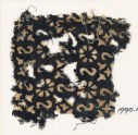 Textile fragment with reversed S-shapes, rosettes, and quatrefoils (EA1990.17)