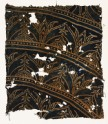 Textile fragment with arches and plants (EA1990.223)