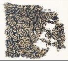 Textile fragment with swirling plants and flower-heads (EA1990.239)