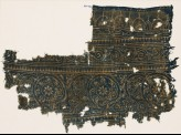Textile fragment with linked scrolls (EA1990.259)