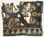 Textile fragment, possibly with plants and carnations (EA1990.263)