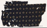Textile fragment with rectangular shapes and kites