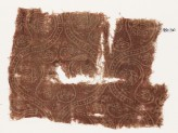 Textile fragment with interlocking medallions