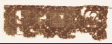 Textile fragment with squares, quatrefoils, and Maltese crosses (EA1990.339)