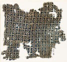 Textile fragment with linked crosses and Maltese crosses (EA1990.38)