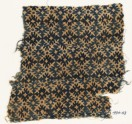 Textile fragment with serrated crosses (EA1990.43)