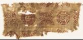 Textile fragment with rosettes and quatrefoils (EA1990.430)
