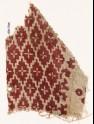 Textile fragment with diamond-shapes and quatrefoils (EA1990.505)