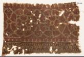 Textile fragment with interlocking circles (EA1990.624)