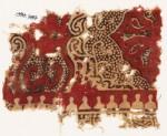 Textile fragment with plant design (EA1990.787)