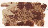 Textile fragment with ornate quatrefoil or medallion (EA1990.877)