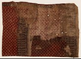 Textile fragment with stars