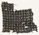 Textile fragment with rosettes, dots, and lobed squares (EA1990.91)
