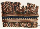Textile fragment with flowering trees and rosettes (EA1990.936)