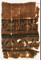 Textile fragment with stylized trees (EA1990.939)