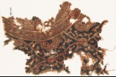 Textile fragment with interlacing tendrils and leaves (EA1990.946)