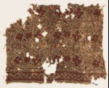 Textile fragment with tendrils, leaves, and flower-heads (EA1990.959)