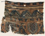 Textile fragment with leaves, niches, and tendrils (EA1990.962)