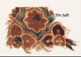 Textile fragment with linked quatrefoils (EA1990.968)