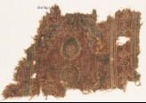 Textile fragment with ovals and possibly stylized birds (EA1990.975)
